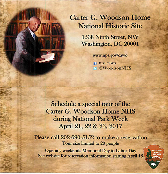 Tour the Carter G. Woodson House