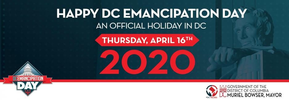DC Emancipation Day 2020