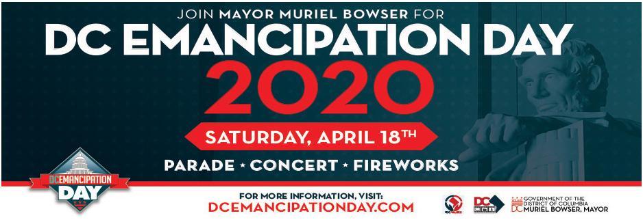 DC Emancipation Day 2020