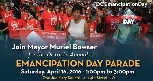 Emancipation Day Parade 2016